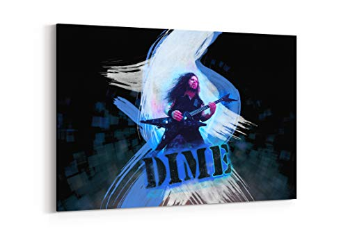 Pantera Groups Bands Thrash Heavy Metal Hard Rock Dimebag - Canvas Wall Art Gallery Wrapped 40