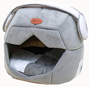Doubleblack Cama Gato Nido para Mascotas Cama de Perro Cálido Gris Pequeña Lavable: Amazon.es: Productos para mascotas