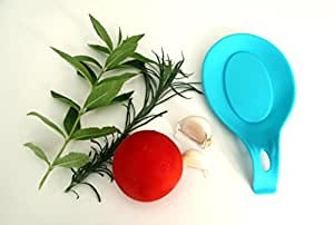 Loonchik Silicone Spoon Rest (blue)