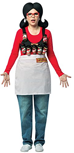 Womens Halloween Costume- Bobs Burgers Linda Spice Rack Adult Costume