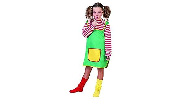 halloweenia – Disfraz de Pipi Calzaslargas Niños con bolsillo ...
