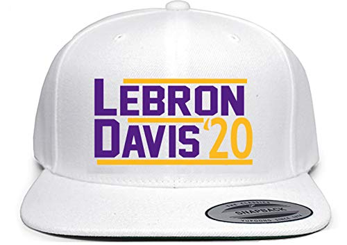 Shedd Shirts White Snapback Los Angeles Lebron Davis 2020 Hat