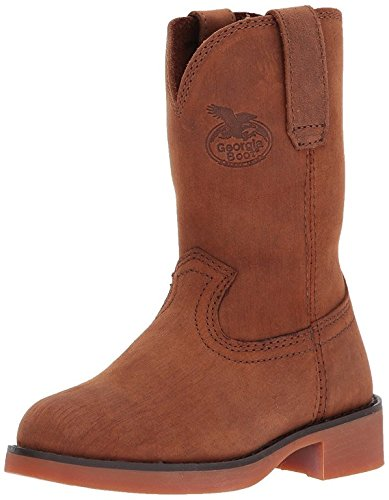 Youth Chestnut Footwear - Georgia Boot Baby GB00004 Mid Calf Boot, Prairie Chestnut, 8.5 M US Toddler