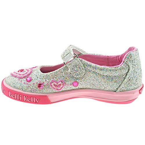 Shoes Silver 29 Kelly GH01 11 Dolly Glitter Ava Lelli UK LK3020 WpZnZqB