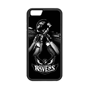 Onshop Baltimore Ravens Super Bowl Custom Case for iPhone6 4.7 Inch (Laser Technology) by runtopwell