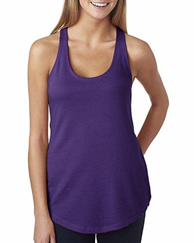 Next Level - Camisas - para mujer Morado - PURPLE RUSH