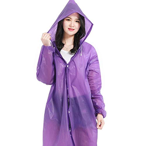Imperméable Trekking Adulte Multicolores Non Casual Outdoor Plus Poncho Jetable Raincoat Portable Lilas Épais Dame Battercake ZxAnRw4Tpq