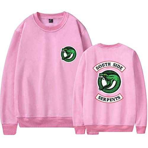 Hip Hop South Pullover Pullover Blusa Jumper Sudadera Sudadera Top Snake Baggy Camisa 10 Riverdale Color Side BUdvxqwzz