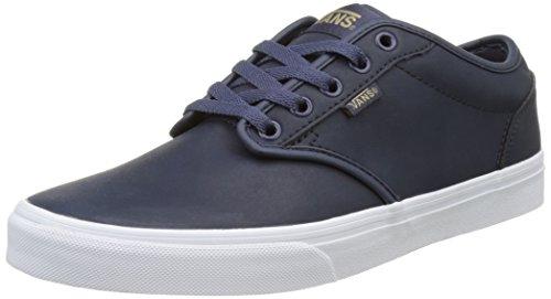 Vans Leather Blu da Uomo Mn Basse Atwood Ginnastica Scarpe rq76rO8