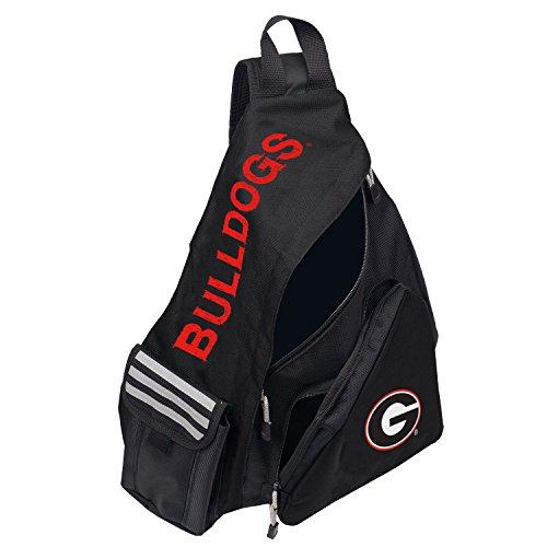 Officially Licensed NCAA Georgia Bulldogs Leadoff Slingbag