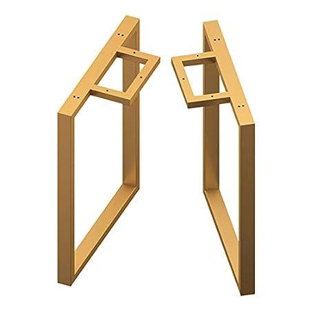 CRKY Patas para Muebles metálicas de 70 cm Patas Ajustables para ...