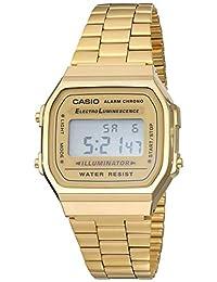 Casio A168WG-9VT Reloj Digital Clásico Metal Retro Vintage