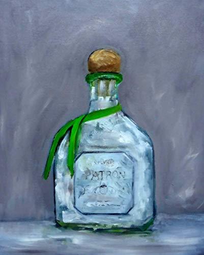 Patron Silver Tequila Fine Art Print (Patron Tequila Light)