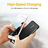 Luxtude PowerEasy 5000mAh Ultra Slim Portable Phone Charger for iPhone, Apple Certified Power Bank with Built in Lightning Cable, Fast Charging External Battery Pack for iPhone11/XS/XR/X/8/8P/7/6/6S