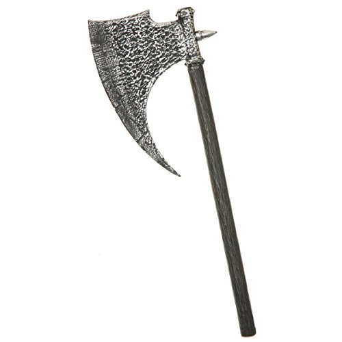 Spiked Battle Axe Costume Accessory - Executioner Medieval Axe