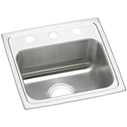 Elkay Celebrity PSR17162 Single Bowl Top Mount Stainless Steel Sink ()