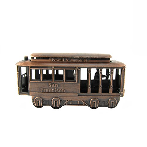 Powell & Mason St. San Francisco Cable Car Miniature Die Cast Pencil - Novelties Souvenirs
