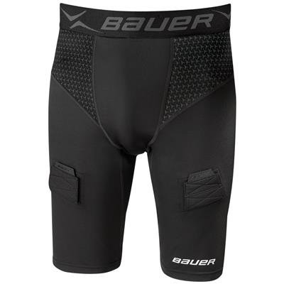 - Bauer Premium Hockey Jock Short Compression Youth XL