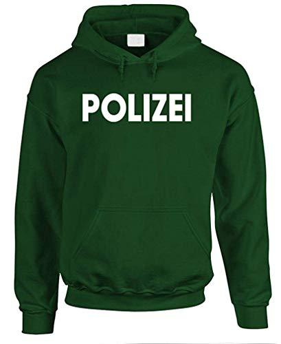 Mean Gear Polizei - Mens Pullover Hoodie (Polizei-designer)
