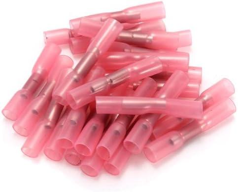 Stoßverbinder 50 STÜCK 25 Stück 0,5-1,5 mm, rot UND 25 Stück 1.5-2.5 mm, blau !