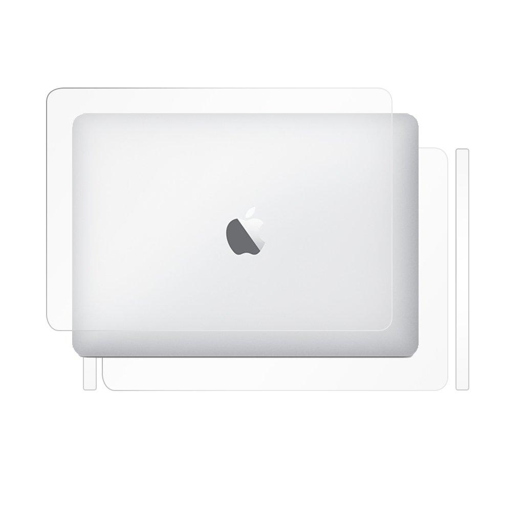 BodyGuardz - UltraTough Clear ScreenGuardz, Crystal Clear Skin Anti-Microbial Body Protection - Full Body for Apple MacBook Pro 13-Inch (2016 & 2017)