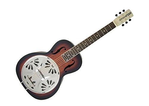 Gretsch G9230 Bobtail Square-Neck Mahogany Body Spider Cone Resonator Acoustic-Electric (Body Resonator Guitar)
