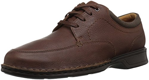 Clarks Men's Northam Pace Shoe, tobacco leather, 140 M US