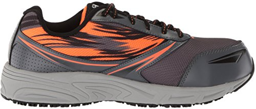 Fila Mens Memory Meiera 2 Slip Composite Anti-dérapant Trail Chaussure De Course Castlerock / Black / Vibrant Orange