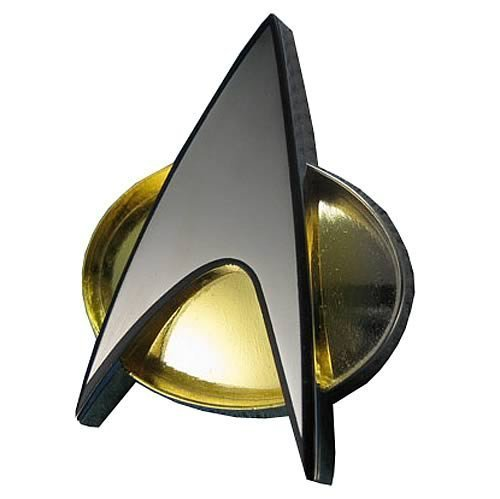 Quantum Mechanix Star Trek The Next Generation Communicator Badge Replica by Quantum Mechanix ()