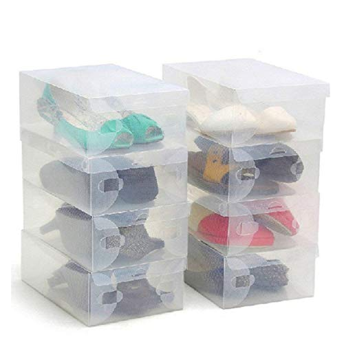 Kurtzy Shoe Storage Box 10 Pack -