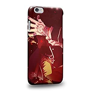 """Case88 Premium Designs Fullmetal Alchemist Brotherhood Roy Mustang Protective Snap-on Hard Back Case Cover for Apple iPhone 6 4.7"""""""