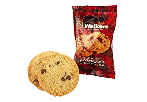 (Walkers 2 Piece Shortbread Chocolate Chip Cookies, 0.24 Pound)