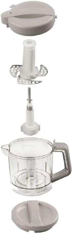 Nuvita NU-0065 Tapa de Reemplazo para la Jarra del Mini Robot de Cocina para Beb/é Nuvita 1966 Pappasana Vapor Combo 2 /& Nuvita 1965//1960 Tapa Robot de Cocina para Beb/é-Marca Europea Dise/ño Italiano