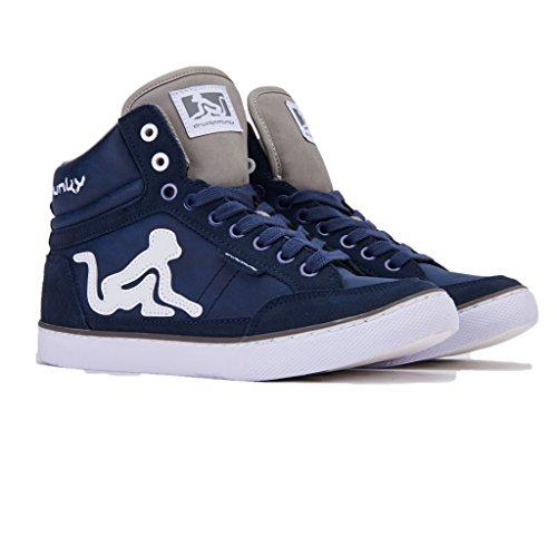 Navy Boston DrunknMunky Bleu de Chaussures Tennis Classic Homme wgwz4qH