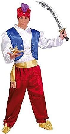 Magic Box Disfraz de príncipe árabe Estilo Aladdin para Hombre ...