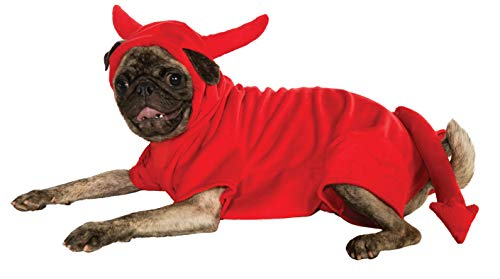 Rubie's Fleece Devil Dawg Costume Hoodie, Medium