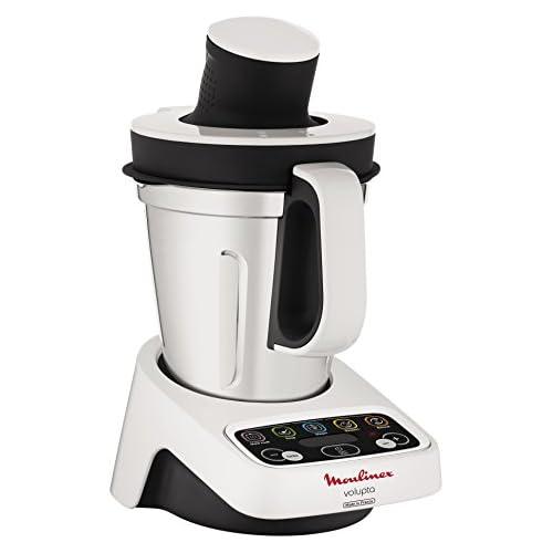 chollos oferta descuentos barato Moulinex HF404113 Robot de Cocina multifunción Capacidad de 3 l Interfaz intuitivo con 5 programas automáticos 5 Accesorios 1000 W Plástico