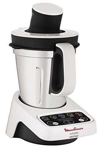 Moulinex HF404113 Robot de Cocina multifunción, Capacidad de 3 l, Interfaz intuitivo con 5 programas automáticos, 5…