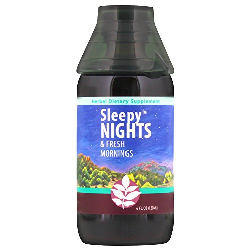 WishGarden Herbs - Sleepy Nights, Organic Herbal Sleep Aid, Supports Healthy Sleep Cycles, Wake Up Fresh in the Morning (4 oz ()