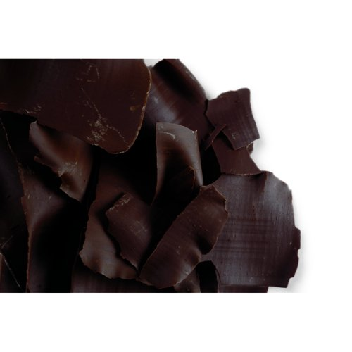 Dark Chocolate Thin Flat Shavings - 5.5 Lb Bag