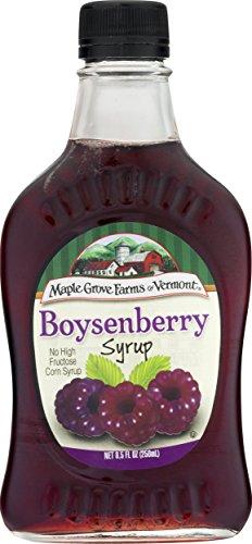 Maple Grove Farms, Boysenberry Syrup, 8.5 Ounce