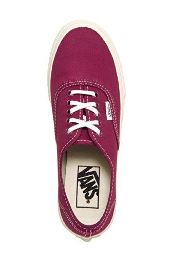 Vans Sneakers Unisex Autentiche Slim In Twill Rosso