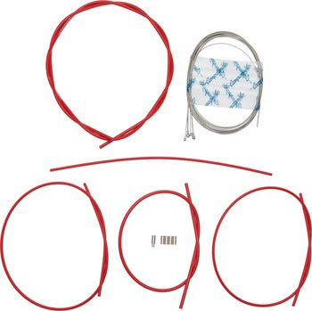 Cable Brake Campy (Campagnolo Ultra Low Friction Brake & Derailleur Cable & Housing Sets Red)