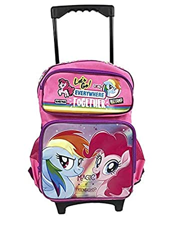 NEW My Little Pony Backpack Girls School bag Cartoon Travel Shoulders Bag Gift