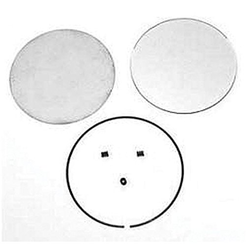 Eckler's Premier Quality Products 40137433 Full Size Chevy Door Mirror Glass Repair Kit