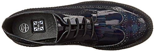 Sneaker U Fashion Wingtip Black Iridescent Unisex Creeper T K AdRw00
