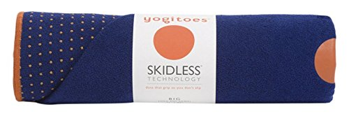 Manduka Chakra Collection Yoga Mat Towel, Blue