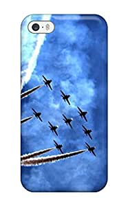 New CCFIkMB10794xDUhY The Air Fight Force Skin Case Cover Shatterproof Case For Iphone 5/5s