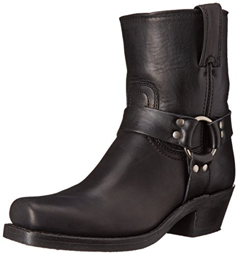 Womens Black Harness Boots - 7