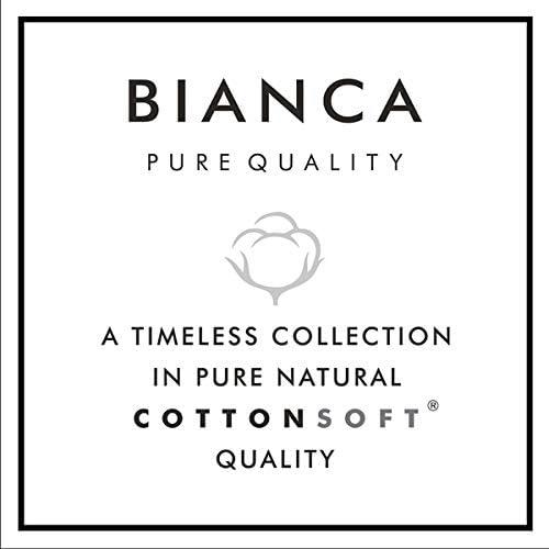 Juego de Funda n/órdica de algod/ón Bianca Color Blanco y Gris